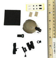 SFG Veteran: Dragoon - Helmet w/ Night Vision and Accessories