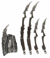 Scar Predator V2 - Gauntlet w/ Blades (Metal Blades) (AS-IS See Note)