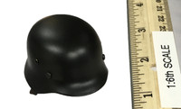 German Grossdeutschland Division Motorcycle Driver - Helmet (M35) (Metal)