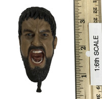 King Leonidas - Head (Yelling Expression) (No Neck Joint)