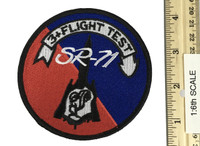 SR-71 Blackbird Test Pilot - Patch (1:1 Scale Full Size)