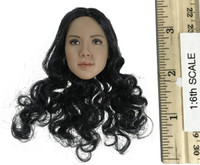 VC 3.0 Female Body Set - Head (Curly Hair) (No Neck Joint)
