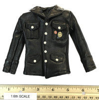 Infernal Clockwork Men - Jacket w/ Medals (Black Leather)