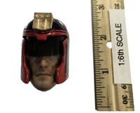 Dredd - Head w/ Metal Helmet (See Note) (No Neck Joint)