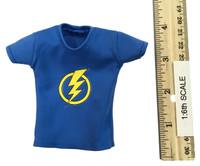 Dragon Tiger Gate: Dragon Wong - T-Shirt (Blue Lightning)