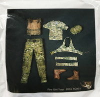 Multicam Tactical Female Shooter Set - Boxed Set (FG-003)