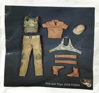 Multicam Tactical Female Shooter Set - Boxed Set (FG-004)