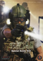 SDU Special Duties Unit Assault K9 - Boxed Figure