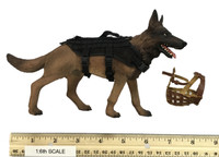 SDU Special Duties Unit Assault K9 - Dog w/ Accessories