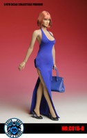 Bodycon Sleeveless Dress Sets - Blue Set