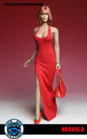 Bodycon Sleeveless Dress Sets - Red Set