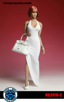 Bodycon Sleeveless Dress Sets - White Set