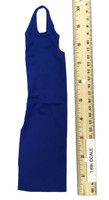 Bodycon Sleeveless Dress Sets - Dress (Blue)