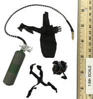 US Navy Seal Team Six K9 Halo Jumper - Oxygen Tank w/ Pouch