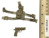 US Navy Seal Team Six K9 Halo Jumper - Pistol (P226) w/ Holster