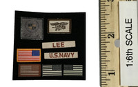 Seal Team 3 Charlie Platoon: Marc Lee Tribute - Patches