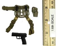 KSK Assaulter Kommando Spezialkrafte - Pistol (HK-P8) w/ Holster