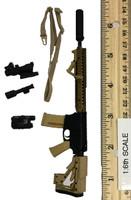 Digital Camouflage Women Soldier: Max - Rifle (M4)