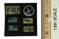 FBI Hostage Rescue Team (Field Operation Version) - Patches
