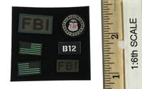 FBI Hostage Rescue Team (Training Version) - Patches