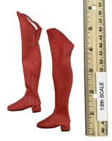 Cosplay Supergirl - Boots (Long) (For Feet)
