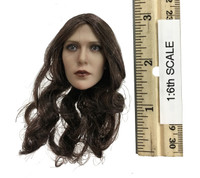 Custom Female Witch - Head w/ Regular Eyes