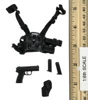KSK Kommando Spezialkrafte L.R.R.P. - Pistol (P8) w/ Dropleg Holster