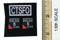 Metropolitan Police Service Specialist Firearms Command - Patches (2 Sets)