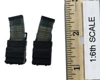 Metropolitan Police Service Specialist Firearms Command - Rifle Ammo (MCX-5) w/ Holsters