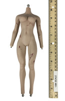 Red Sonja: Scars of the She-Devil - Nude Body (Metal Endoskeleton) (Bloody)