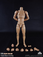 COO: BD008 - Male Muscle Arm High Body Set - 27cm Tall
