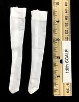 Oktober Girl Dress Set - Stockings (White)