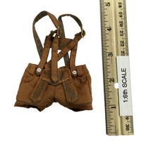 Oktober Girl Shorts Set - Lederhosen (Tan)