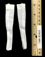 Oktober Girl Shorts Set - Stockings (White)