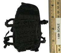 PMSCS Contractor in Syria - Black Backpack