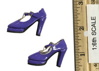 Mystery Girls Set: Velma - Shoes (For Feet) (Purple)