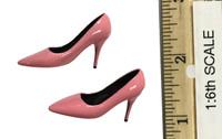 Bunny Girl Waitress Suit Sets - High Heels (Pink)