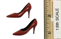 Bunny Girl Waitress Suit Sets - High Heels (Red)