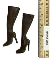 Fighting Girls in Camo - Boots (Brown) (For Feet)