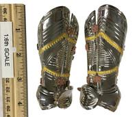 Gothic Armor (Silver) - Upper Leg Armor (Cuisses) (Metal)