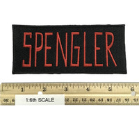 Ghostbusters: Egon Spengler - Patch (Full Size 1:1 Scale)