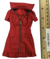 Sexy War Women Suit (Cloth Version) - Dress (Red)