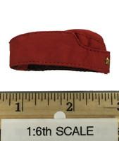 Sexy War Women Suit (Cloth Version) - Garrison Cap (Red)
