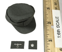 WWII German SS MG42 Machine Gunner - Combat Hat