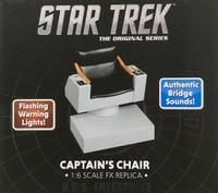 Star Trek TOS: Captain's Chair FX Replica - Boxed Accessory