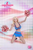 Fire Girl Cheerleader Uniform - Boxed Set (Blue)