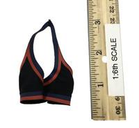 Fire Girl Cheerleader Uniform - Sports Bra (Black)