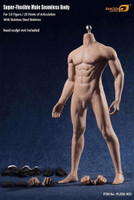 Super Flexible Seamless Male Body - Boxed Figure (PL2016-M33) (NO HEAD SCULPT)