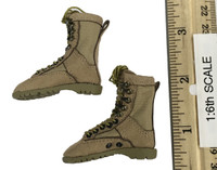 Camouflage Women Soldiers: Villa - Boots (For Feet)