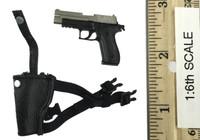 Crossfire: Mandala the Protector - Pistol w/ Left Dropleg Holster